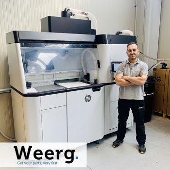 Stampa 3D - Stampanti HP - Weerg - Post Facebook