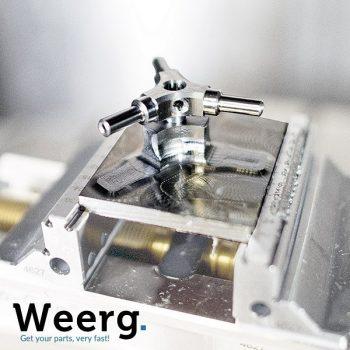 Modelli di Lavorazioni CNC Acciaio C45 Weerg